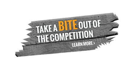 Take a bite out of the competition - Learn more
