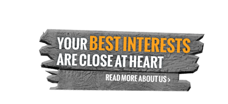 Your best interest are close at heart - read more about us